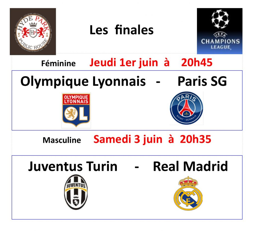 hyde park bulletin special finales ligue champions site JPEG
